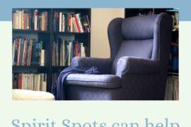 comfy chair to create a spirit spot