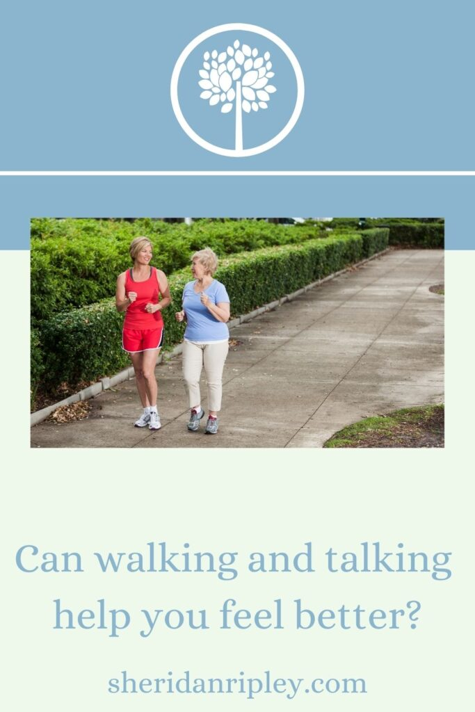 22. Can Walking While Talking Help You Feel Better Emotionally?