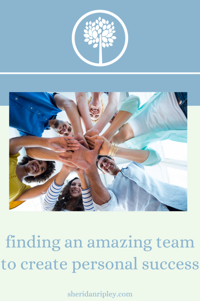 38. have you found an amazing team for your personal success?