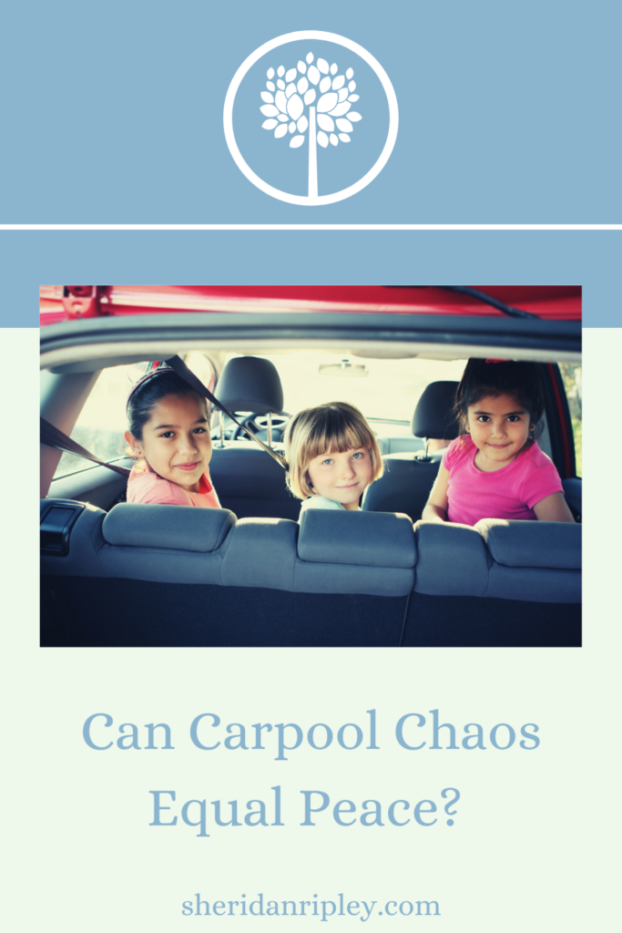 How a Traffic Jam with the Carpool Kids Helped Me Find Peace